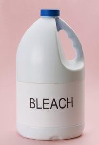 Generic bleach bottle.