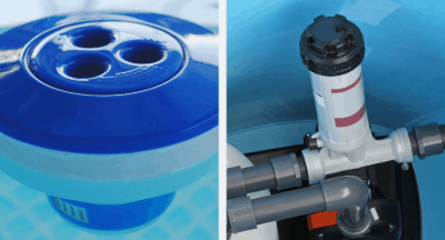 Best Way To Chlorinate Your Pool – Automatic Chlorinator Vs. Floating Dispenser