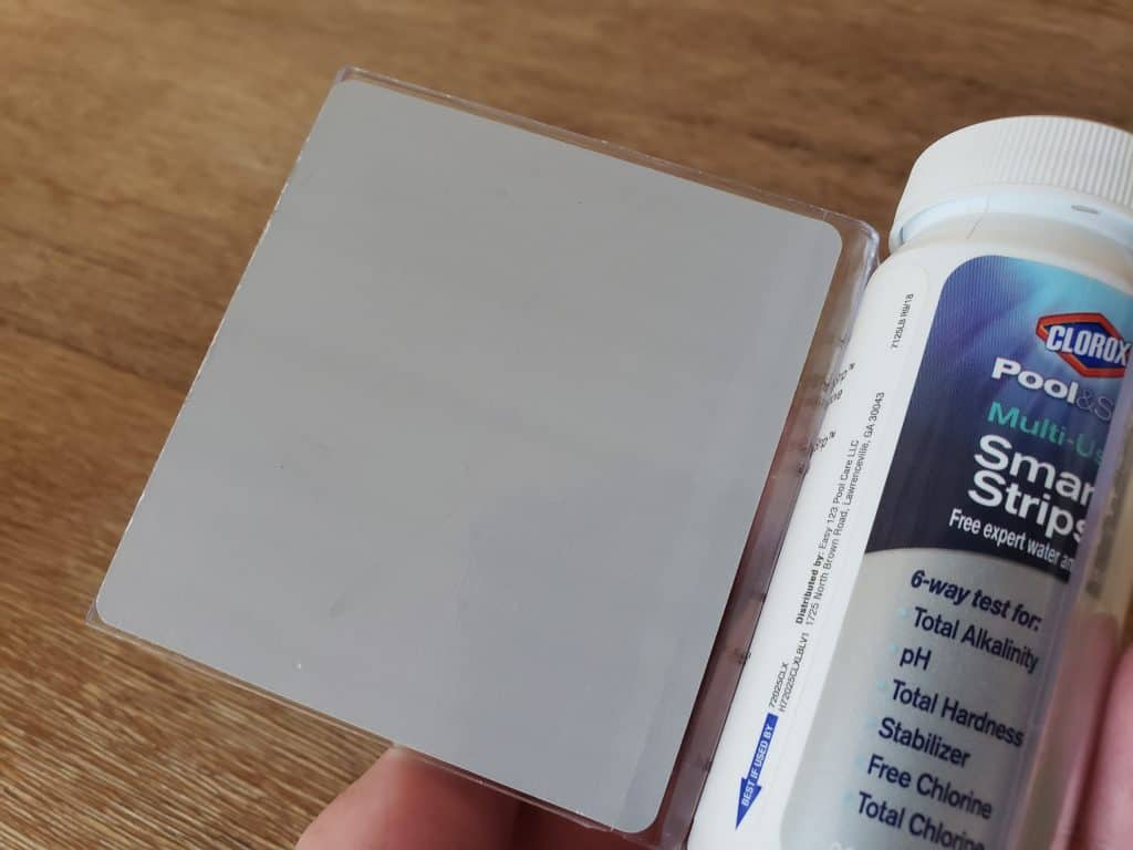 How To Test Your Water With Clorox Smart Strips Use The